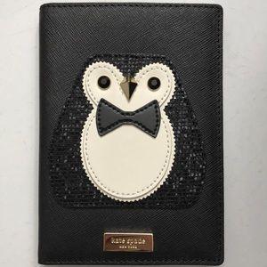 Kate Spade Clifton Lane Penguin Passport Holder